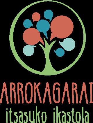 Arrokagarai ikastolo logo