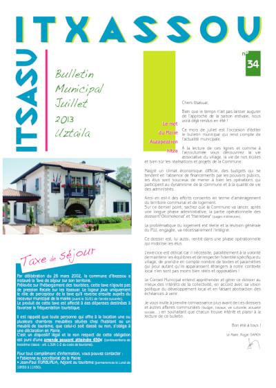 Bulletin 2013 Juillet