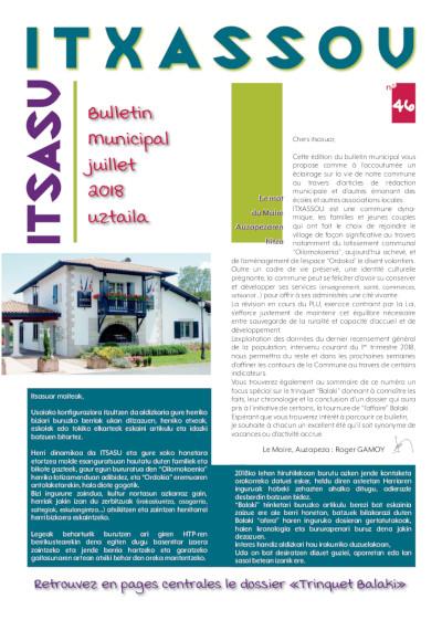 Bulletin Itxassou 28p 07-2018