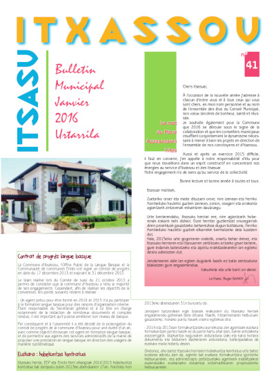 Bulletin Itxassou 41 bd
