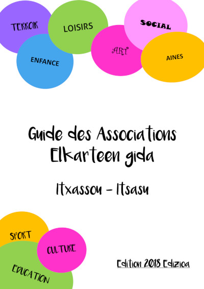 Guide des Associations Itsasu 2018 - OK