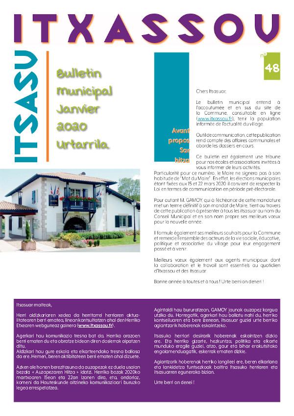 ITXASSOU - Bulletin n48reduit